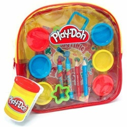 Play-doh Activity Backpack (Yellow) playdoh