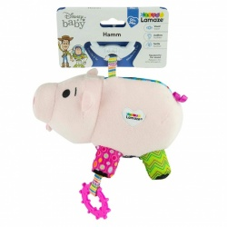 Lamaze Disney Pixar Toy Story Clip and Go, Hamm Baby Toy