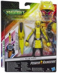 Beast Morphers Yellow Ranger 6-inch Action Figure