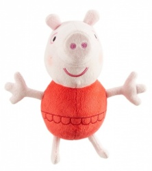 Peppa Pig Supersoft Holiday Peppa in Bathing Suit Soft Toy