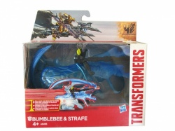 Transformers Age of Extinction Bumblebee and Strafe