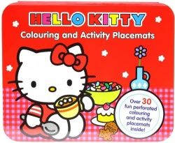 Alligator Books Hello Kitty Placemat Activity Pad