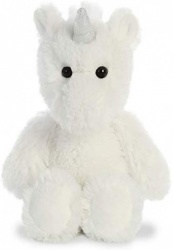 Aurora World Cuddly Friends Unicorn 8'' White