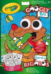 Crayola Books and Paper Googly Eyes Colouring Book