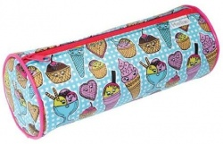 Helix Ice-Cream Cylindrical Pencil Case