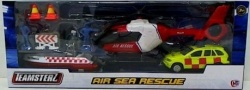 Teamsterz Air Sea Rescue Playset Includes Helicopter & Boat