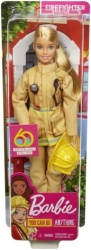Barbie Career 60th Doll, I Can Be a Firefighter