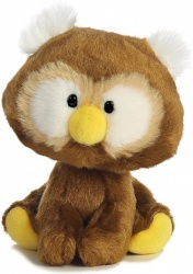 Aurora World Wobbly Bobblees Owl Plush Toy