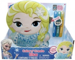 Colour and Create Frozen Elsa Inkoos