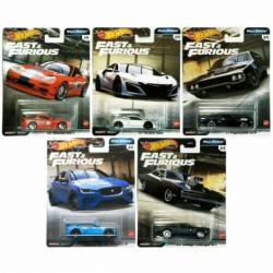 Hot Wheels Premium Fast & Furious Full Force 1:64 Vehicles