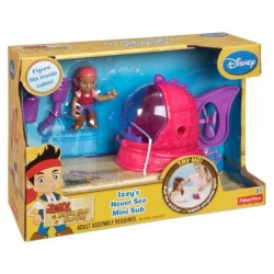 Fisher-Price Disney Jake and The Never Land Pirates Izzy's Never Sea Mini-Sub