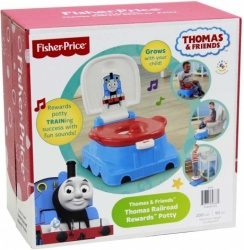 NEW Fisher Price Thomas and Friends Railroad Rewards Potty