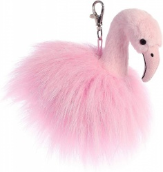 Aurora World Luxe Boutique Ava Flamingo Key Clip