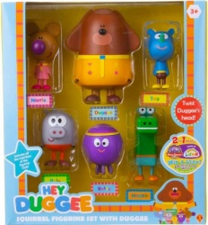Hey Duggee Squirrel Figurine Set