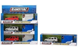 Teamsterz 4x4 Car Jeep and Horsebox With Horse Die cast