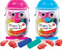 Kids Create Moneybox Dough Set - One random colour supplied
