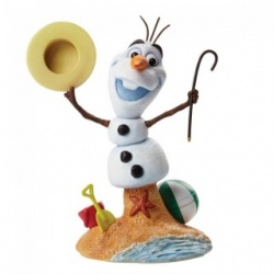 Disney Frozen Olaf The Silly Snowman Bust Figurine Grand Jester Studios