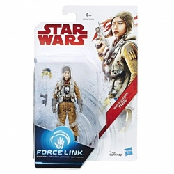 Star Wars Resistance Gunner Paige Force Link-activated figure