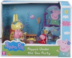 NEW Peppa Pig Theme Playset Under the Sea Party