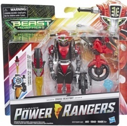 Power Rangers Beast Morphers Cruise Red Beastbot