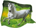 Small Foot Company Fleece blanket with Horse Motif