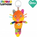 Flannery the Fox Baby Toy, Clip On Baby Pram Toy