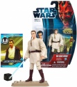 Star Wars Year 2012 Movie Heroes Series 4 Inch Tall Figure - OBI-WAN