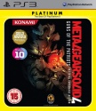 Metal Gear Solid 4 - Guns Of The Patriots Platinum (used very good)