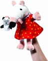 Maisy 11-inch Hand Puppet