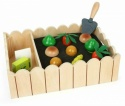 Small Foot 12011 Vegetable Garden with Wooden Play Set for Children from 3 Years