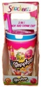 Snackeez Shopkins 2 in 1 Snack and Drink Cup
