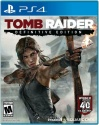 Tomb Raider Definitive Edition Sony PS4 (used very good)