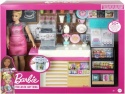 NEW Barbie Coffee Shop with Doll