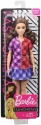 NEW Barbie Fashionistas Doll Checkered Dress