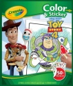 NEW Crayola Toy Story Colour and Sticker