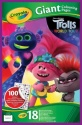 NEW Crayola Trolls 2 Giant Colouring Book