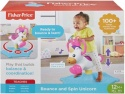 NEW Fisher Price Bounce and Spin Unicorn