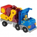 Fisher Imaginext Action Tech Rig Robot Blue Red