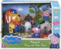 NEW Peppa Pig Theme Playset Day at the Zoo