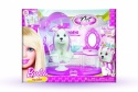 Barbie Interactive Pet Hair Salon with Hairdryer and Chair