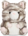 Aurora Worl Rolly Pets Grey Kitten Plush