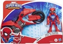 Super Hero Adventures Mini Motorcycle Spiderman