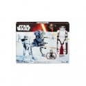Star Wars E7 12 Inch Figure & Vehicle (Riot Control Stormtrooper))