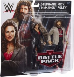 WWE Battle Pack Stephanie McMahon & Mick Foley - Series 49